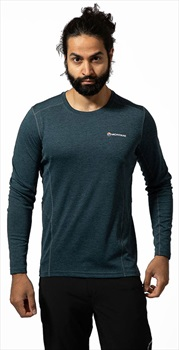 Montane Dart Top Technical Base Layer, S Orion Blue