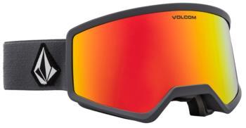 Volcom Stoney Red Chrome Ski/Snowboard Goggles, M/L Grey