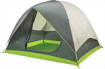 Big Agnes Rabbit Ears 4 Family Camping Tent, 4 Man Grey/Green