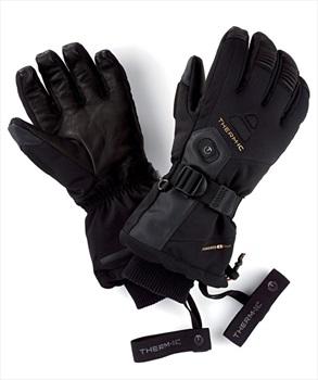 Therm-ic Ultra Heat Men's Heated Ski/Snowboard Glove, L Black