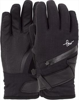 POW Astra Women's Ski/Snowboard Gloves L Black