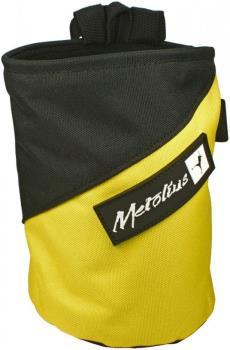Metolius Competition Rock Climbing Chalk Bag, Yellow/Black