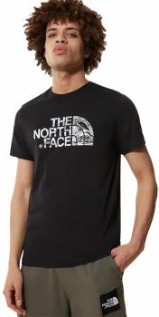 The North Face Woodcut Dome Short Sleeve T-shirt, M TNF Black
