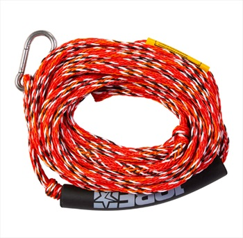 Jobe Heavy Duty Towable Tube Rope, 2 Rider With Hook Red 2021