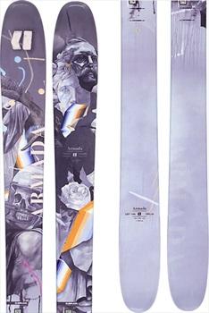 Armada ARV 106 Skis 180cm, Grey/Blue, Ski Only, 2021