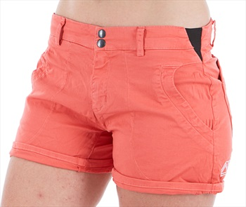 Looking For Wild Bavella Women's Climbing Shorts M Coral