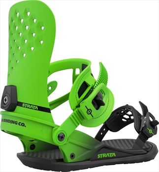 Union Strata Snowboard Binding, L Acid Green 2021