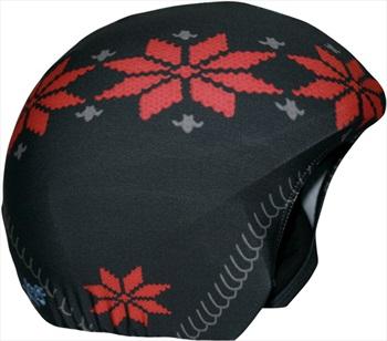 Coolcasc Printed Cool Ski/Snowboard Helmet Cover, One Size, Jaquard
