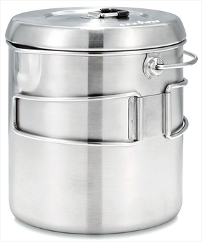 Solo Stove Pot 1800 Compact Camping Cookware, 1800ml Steel