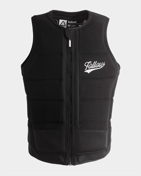 Follow Stow Ladies' Wakeboard Impact Vest, Large Black 2020