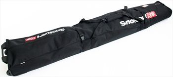 SnoKart 2 Ski Roller Zoom Double Ski Bag 205cm Black