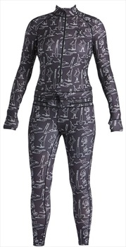 Airblaster Hoodless Ninja Suit Women's Onesie, M TP Yogis