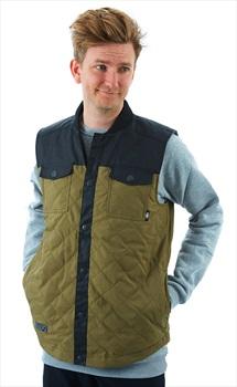 Saga Insulated Vest Ski/Snowboard Body Warmer/Gilet, M Olive
