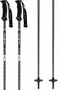 K2 Power Composite Ski Poles, 135cm Gunmetal