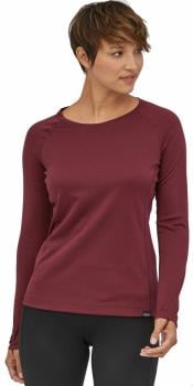 Patagonia Capilene Midweight Women's Thermal Crew, L Chicory Red