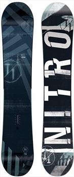 Nitro T1 Positive Camber Snowboard, 152cm Wide 2020