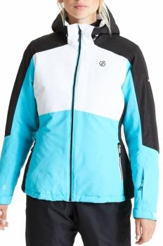 Dare 2b Radiate Women's Snowboard/Ski Jacket, UK 10 Azure Blue/White