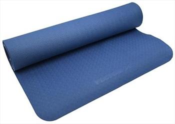 Vector X TPE Yoga/Pilates Mat, 4mm Blue