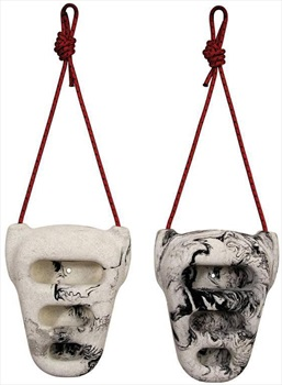 Metolius Rock Rings 3D Climbing Training Board, Black & White