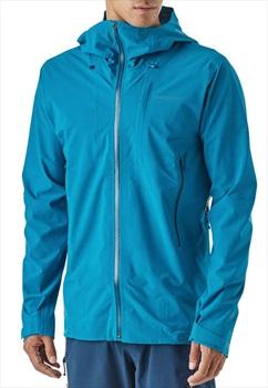 Patagonia Galvanized Waterproof Jacket, L Balkan Blue