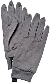 Hestra Merino Wool Ski/Snowboard Liner Gloves XL Dark Grey