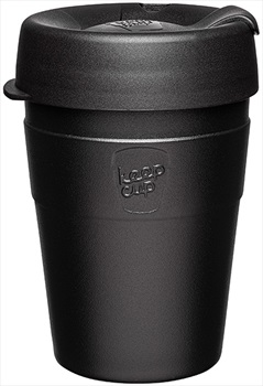 KeepCup Thermal Insulated Reusable Tea/Coffee Cup, 340ml/12oz Black