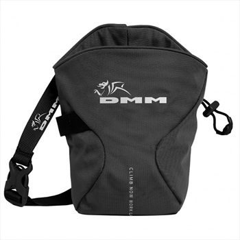 DMM Traction Rock Climbing Chalk Bag, OS Black
