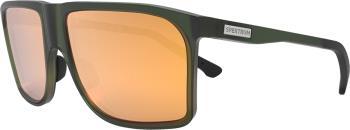 Spektrum Kall Gold Wayfayer Square Sunglasses, Moss Green