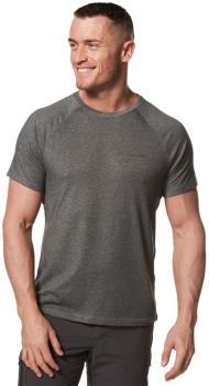 Craghoppers NosiLife Anello II Short Sleeve T-shirt, S Black Pepper