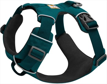 Ruffwear Front Range Harness Padded Dog Walking Harness, M Tumalo Teal