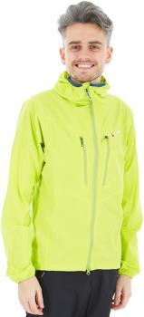 Montane Alpine Edge Softshell Hiking/Climbing Jacket XL Citrus Green