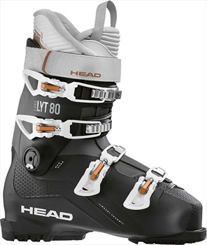 Head Edge LYT 80 Women's Ski Boots, 24/24.5 Black/Copper 2021