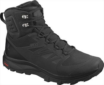 Salomon OUTblast TS CSWP Men's Hiking Boots UK 10.5 Black/Black/Black