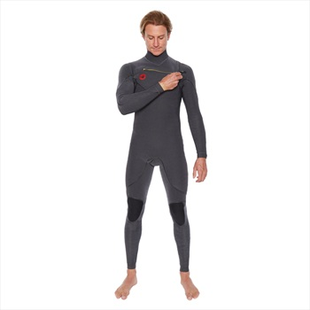 Body Glove Red Cell 4/3 Slant Zip Full Surfing Wetsuit, ML Jet Black