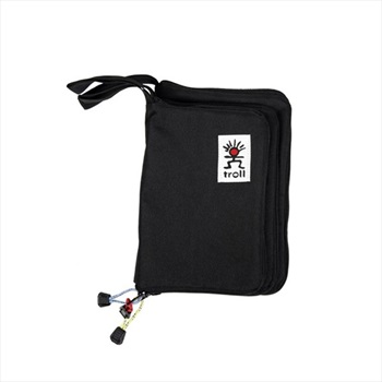 Troll Guide Book Cover Zippered Water Repellent Pouch, 27cm x 19cm