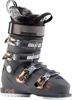 Rossignol Pure Pro 100 Women's Ski Boots, 24/24.5 Graphite 2020