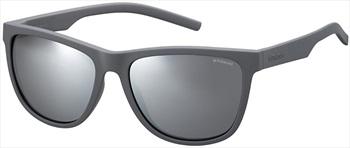 Polaroid Hayle Grey Polarized Sunglasses, Grey