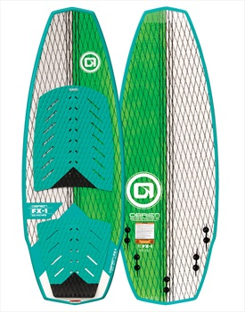 "O'Brien FX1 Wakesurfer, 59"" / 4.9' Blue Green"