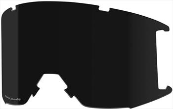 Smith Squad XL Snowboard/Ski Goggle Spare Lens, Chromapop Sun Black