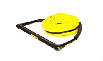 Ronix Kids Wakeboard Handle Line Combo, 55' Yellow 2021