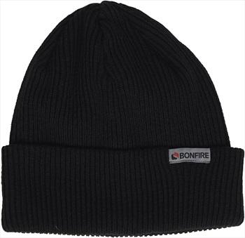 Bonfire Pitch Ski/Snowboard Beanie, One Size Black