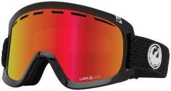 Dragon D1 OTG LumaLens Red Ion Snowboard/Ski Goggles, L Split