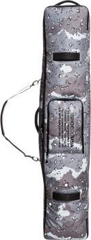 DC Tarmac Wheelie Snowboard Travel Bag, 165cm Greyscale Camo
