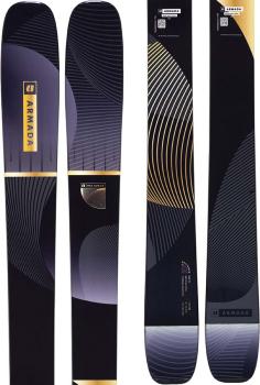 Armada Reliance 102 Ti Women's Skis, 164cm Black 2022