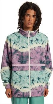 Burton Melter Waterproof Windbreaker Jacket, M Ether Blue Tidal Dye