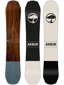 Arbor Coda Positive Camber Snowboard, 156cm 2020