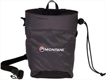 Montane Finger Jam Rock Climbing Chalk Bag, Charcoal