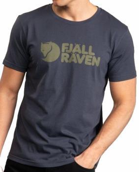 Fjallraven Fjällräven Logo Short Sleeve Graphic T-Shirt, M Navy