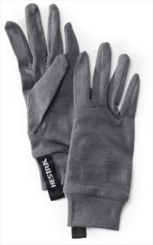 Hestra Merino Wool Ski/Snowboard Liner Gloves Extra Large Grey