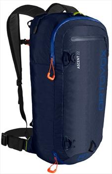Ortovox Adult Unisex Ascent 22 Ski/Snowboard Backpack, 22l Dark Navy